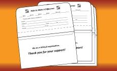 #6 3/4 Tear Off Flap Remittance Envelopes